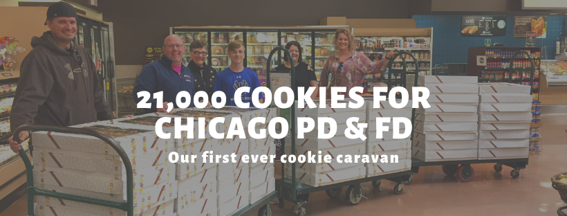 Our first ever Cookie Caravan